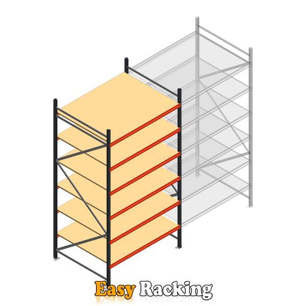 Beginsectie AR grootvakstelling 3000x1610x1200 - 6 niveaus