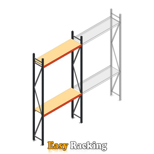 Beginsectie AR grootvakstelling 3000x1610x400 - 2 niveaus