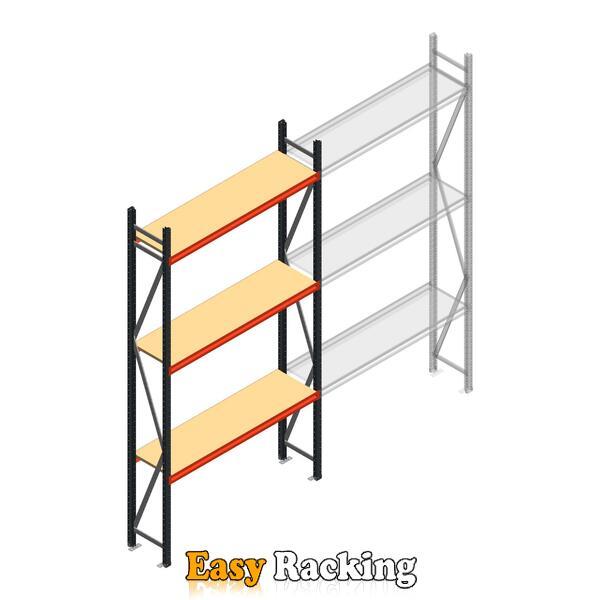 Beginsectie AR grootvakstelling 3000x1610x500 - 3 niveaus