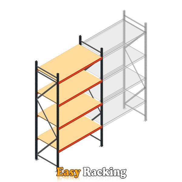 Beginsectie AR grootvakstelling 3000x1610x800 - 4 niveaus