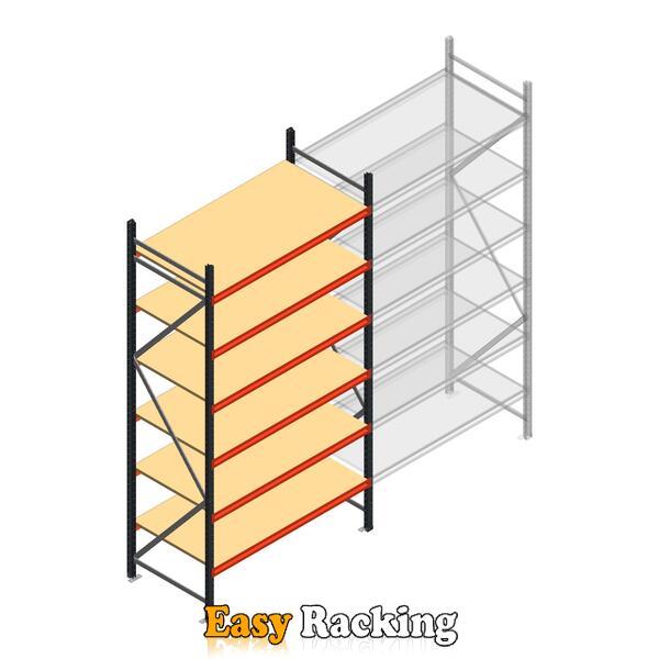 Beginsectie AR grootvakstelling 3000x1610x800 - 6 niveaus