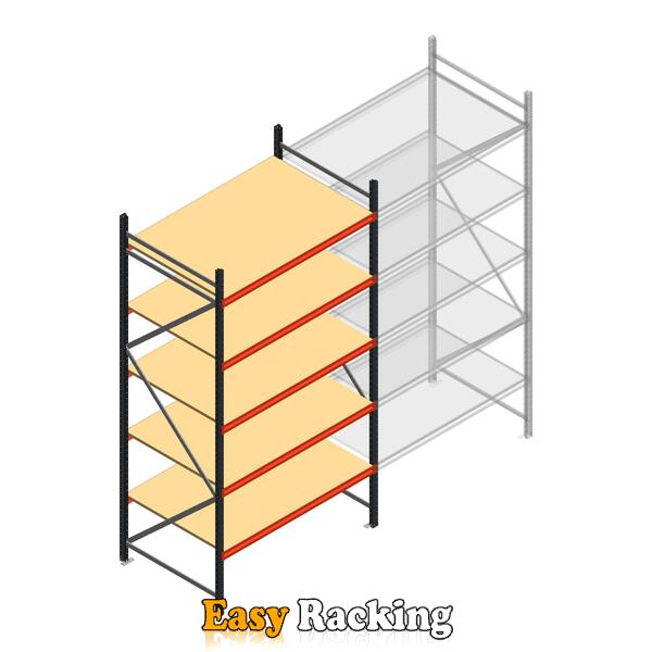 Beginsectie AR grootvakstelling 3000x1610x900 - 5 niveaus