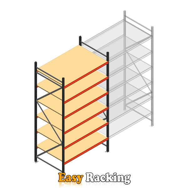 Beginsectie AR grootvakstelling 3000x1610x900 - 6 niveaus
