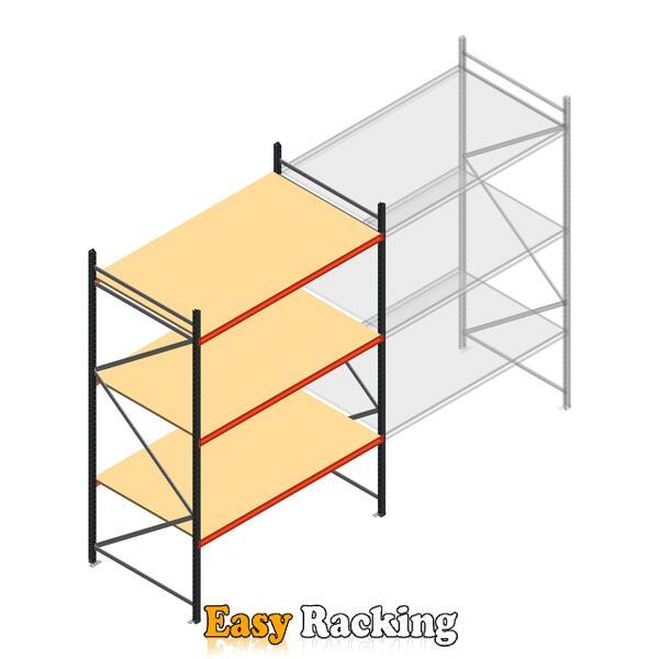 Beginsectie AR grootvakstelling 3000x1850x1200 - 3 niveaus