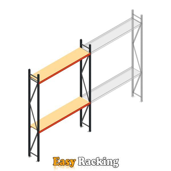 Beginsectie AR grootvakstelling 3000x1850x400 - 2 niveaus