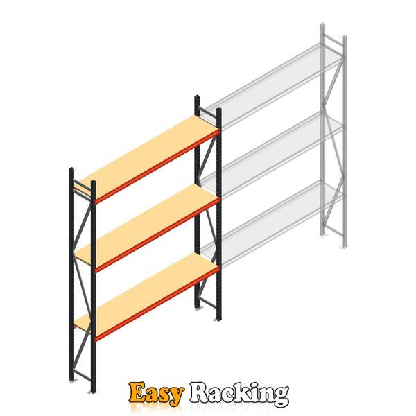 Beginsectie AR grootvakstelling 3000x1850x400 - 3 niveaus