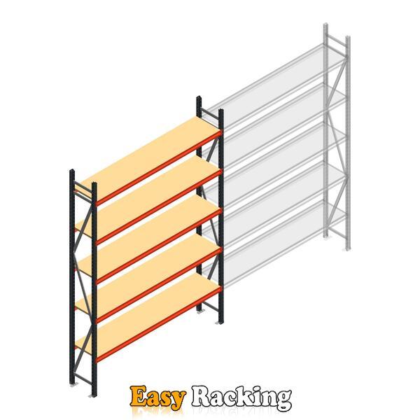 Beginsectie AR grootvakstelling 3000x1850x400 - 5 niveaus