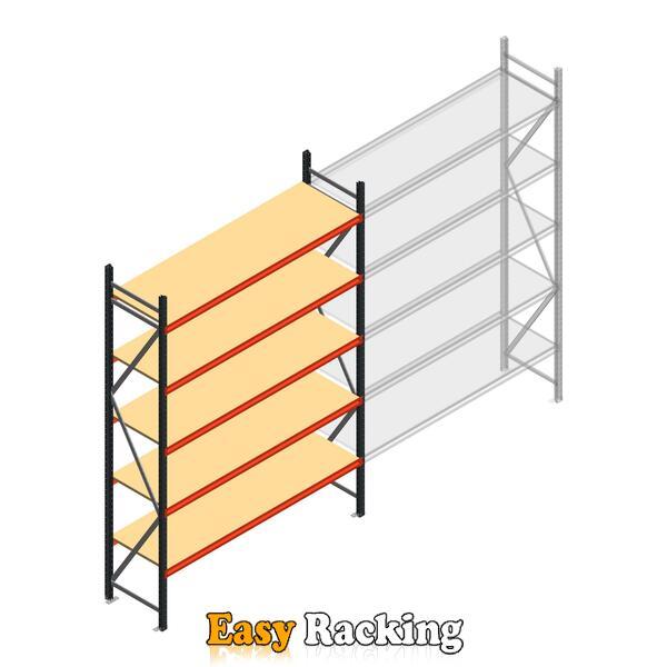 Beginsectie AR grootvakstelling 3000x1850x600 - 5 niveaus