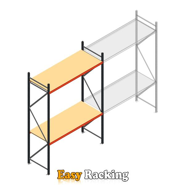 Beginsectie AR grootvakstelling 3000x1850x800 - 2 niveaus
