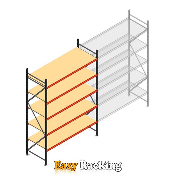Beginsectie AR grootvakstelling 3000x1850x800 - 5 niveaus