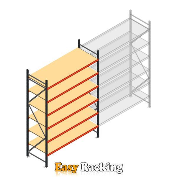 Beginsectie AR grootvakstelling 3000x1850x800 - 6 niveaus