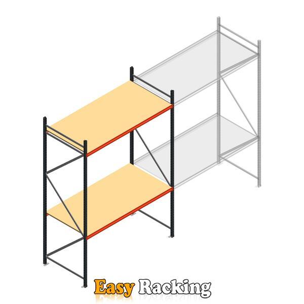 Beginsectie AR grootvakstelling 3000x1850x900 - 2 niveaus