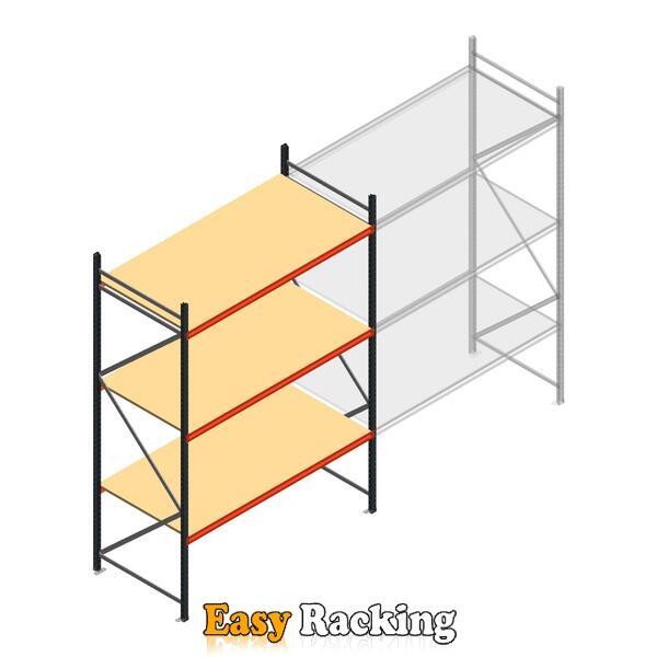 Beginsectie AR grootvakstelling 3000x1850x900 - 3 niveaus