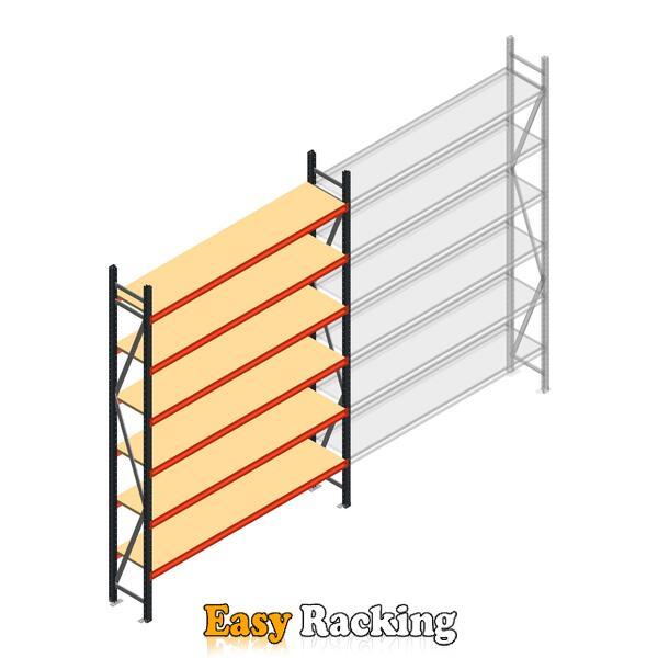 Beginsectie AR grootvakstelling 3000x2010x500 - 6 niveaus