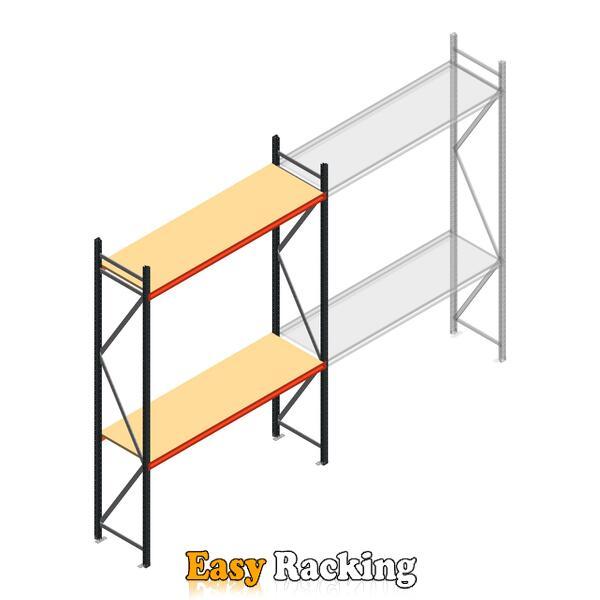 Beginsectie AR grootvakstelling 3000x2010x600 - 2 niveaus