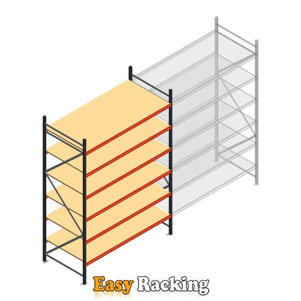 Beginsectie AR grootvakstelling 3000x2010x900 - 6 niveaus