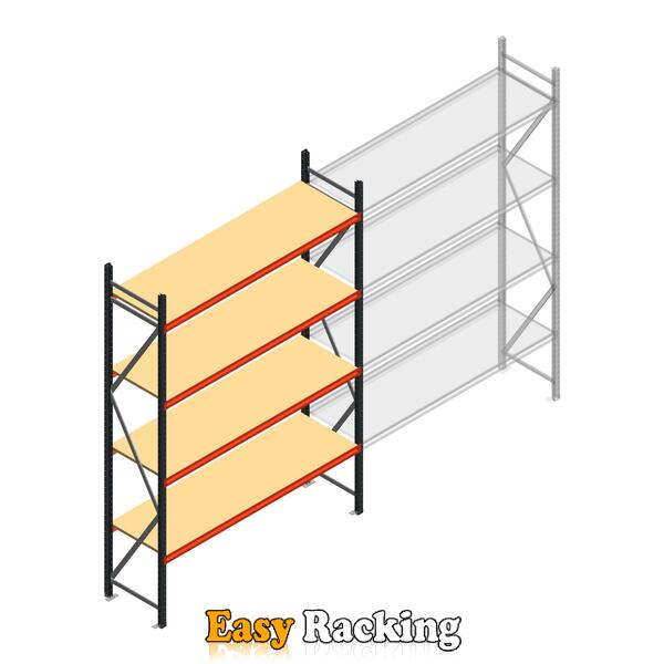 Beginsectie AR grootvakstelling 3000x2250x600 - 4 niveaus