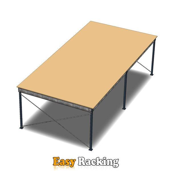 Entresolvloer, verdiepingsvloer, tussenvloer 12000x4200x3200