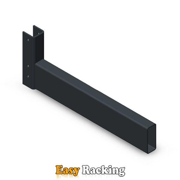 Lichte draagarmstelling voet - vloerligger 500 mm