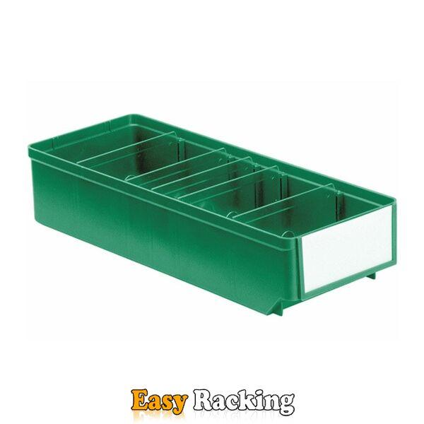 Magazijnbak, Magazijnstellingbak, Kunststof bak RK 400x152x83 groen
