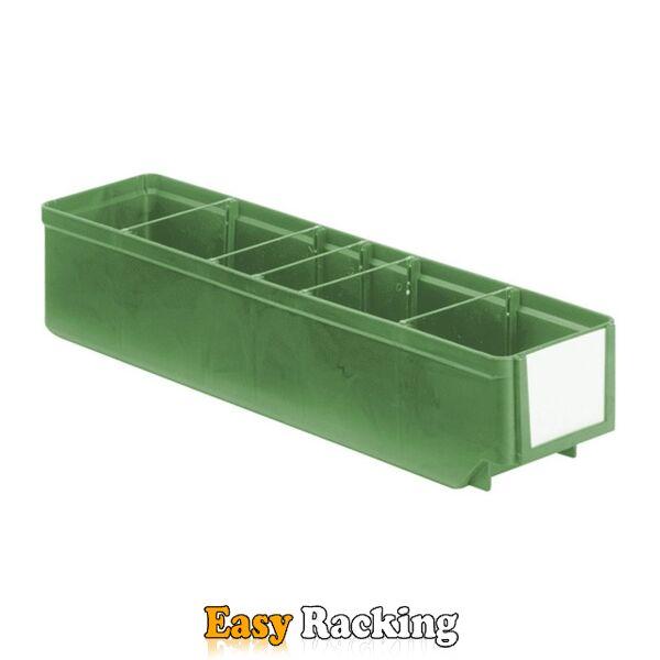 Magazijnbak, Magazijnstellingbak, Kunststof bak RK 400x93x83 groen