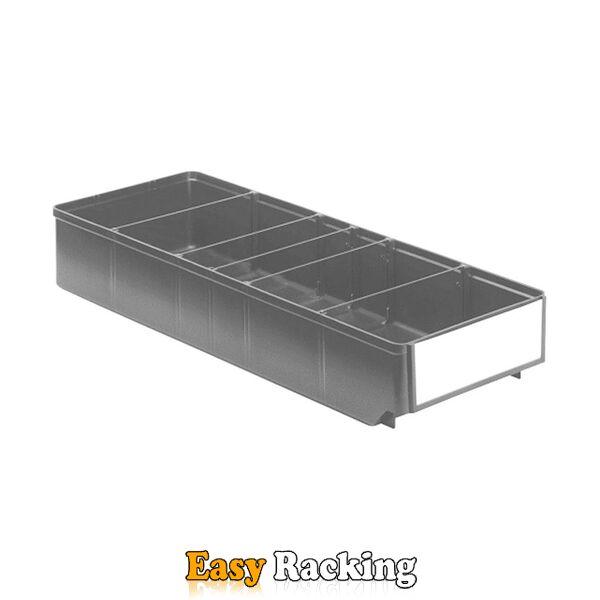 Magazijnbak, Magazijnstellingbak, Kunststof bak RK 500x186x83 grijs