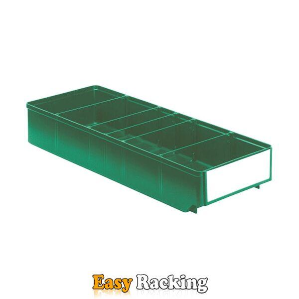 Magazijnbak, Magazijnstellingbak, Kunststof bak RK 500x186x83 groen