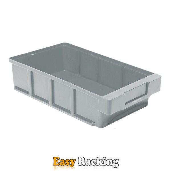 Plastic Bak, Magazijnbak, Magazijnstellingbak VKB 300x186x83 grijs