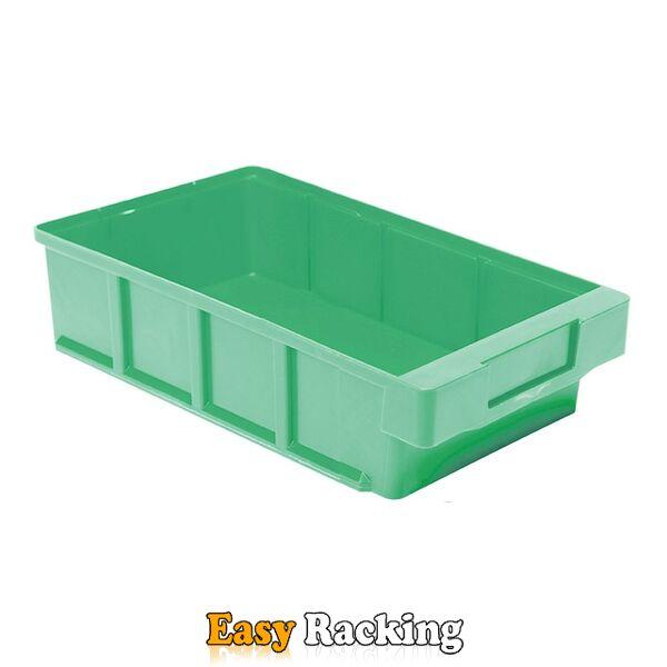 Plastic Bak, Magazijnbak, Magazijnstellingbak VKB 300x186x83 groen