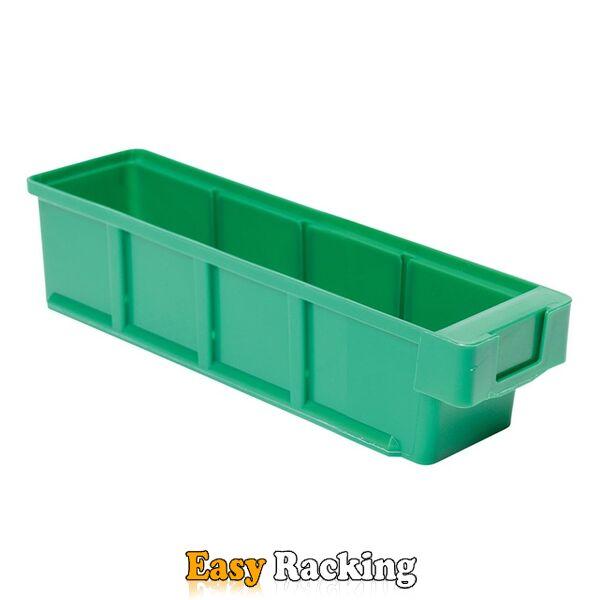 Plastic Bak, Magazijnbak, Magazijnstellingbak VKB 300x93x83 groen