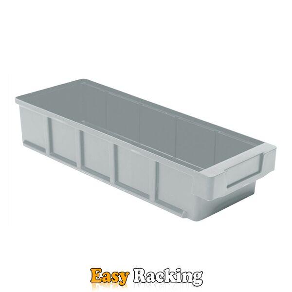 Plastic Bak, Magazijnbak, Magazijnstellingbak VKB 400x152x83 grijs