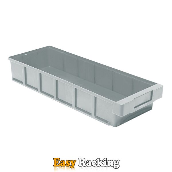 Plastic Bak, Magazijnbak, Magazijnstellingbak VKB 400x186x83 grijs