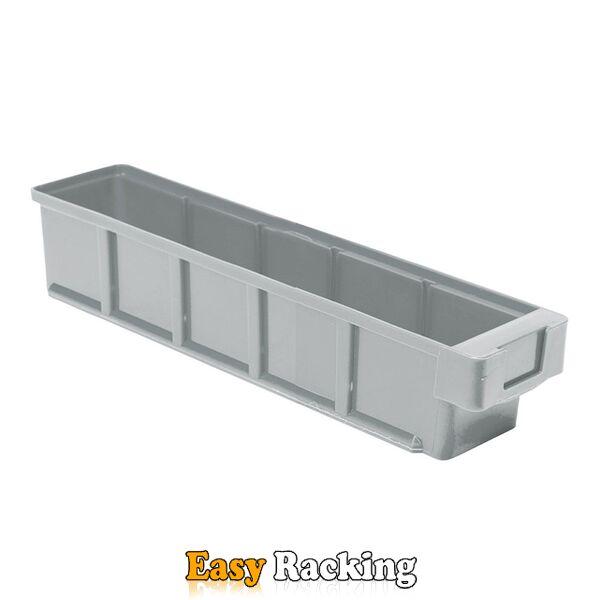 Plastic Bak, Magazijnbak, Magazijnstellingbak VKB 400x93x83 grijs