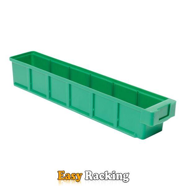 Plastic Bak, Magazijnbak, Magazijnstellingbak VKB 500x93x83 groen