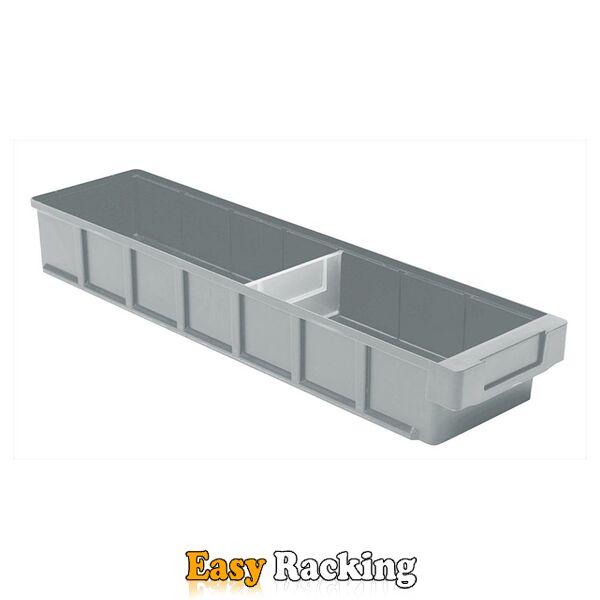 Plastic Bak, Magazijnbak, Magazijnstellingbak VKB 600x152x83 grijs