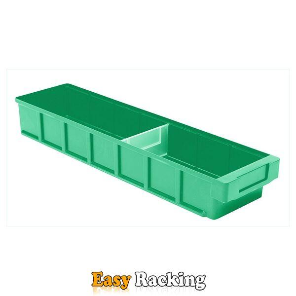 Plastic Bak, Magazijnbak, Magazijnstellingbak VKB 600x152x83 groen