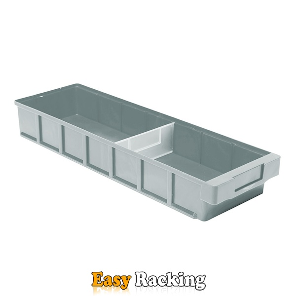 Plastic Bak, Magazijnbak, Magazijnstellingbak VKB 600x186x83 grijs
