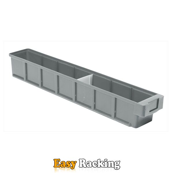 Plastic Bak, Magazijnbak, Magazijnstellingbak VKB 600x93x83 grijs