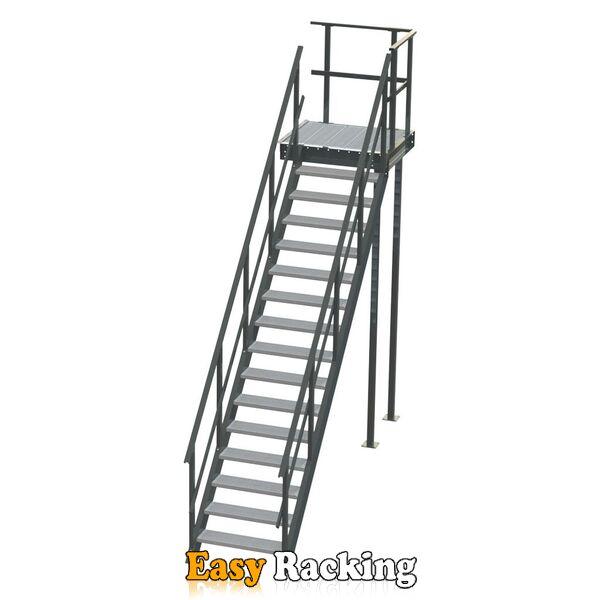 Standaard bordestrap linksaf 3000x800 mm (hxb)