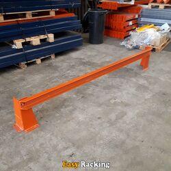 Gebruikte aanrijdbeschermer Mecalux 2570x400 oranje