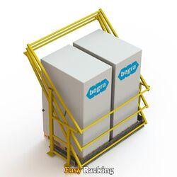 Kantelhek voor entresolvloer - S1 - RAL1023