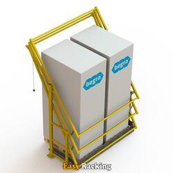 Kantelhek voor entresolvloer - S3 - RAL1023