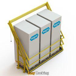 Kantelhek voor entresolvloer - S4 - RAL1023