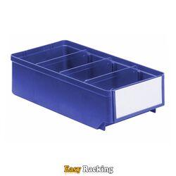 Magazijnbak, Magazijnstellingbak, Kunststof bak RK 300x152x83 blauw