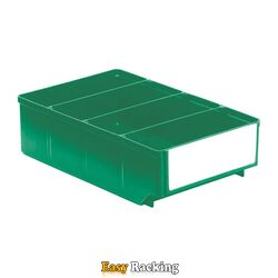 Magazijnbak, Magazijnstellingbak, Kunststof bak RK 300x186x83 groen