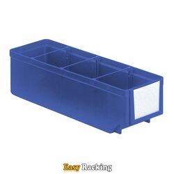 Magazijnbak, Magazijnstellingbak, Kunststof bak RK 300x93x83 blauw