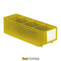 Magazijnbak, Magazijnstellingbak, Kunststof bak RK 300x93x83 geel