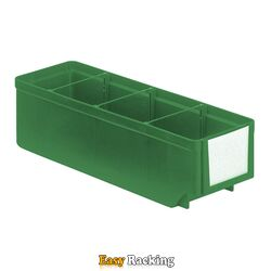 Magazijnbak, Magazijnstellingbak, Kunststof bak RK 300x93x83 groen