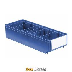 Magazijnbak, Magazijnstellingbak, Kunststof bak RK 400x152x83 blauw