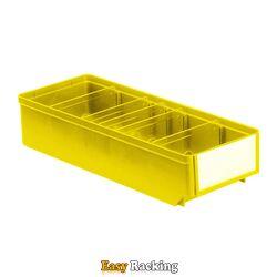Magazijnbak, Magazijnstellingbak, Kunststof bak RK 400x152x83 geel